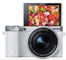 [SAMSUNG] NX500 28MPINTERCHANGEABLE LENS CAMERA WITH 16-50MM White