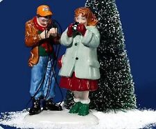 Hurry Up, It's Picture Time NEW Department Dept. 56 Snow Village - NIB - Retired