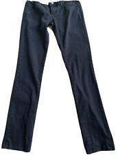Skinny Denim Black Pants Low Rice Women 00