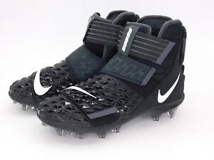 New Nike Force Savage Elite 2 Black Football Cleat AH3999-001 Men's Size 9