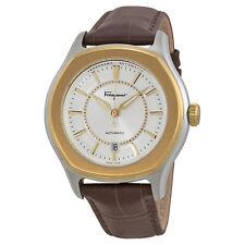 Ferragamo Men's FQ1030013 Lungarno Gold Ion Swiss Automatic ETA 2824-2 Watch