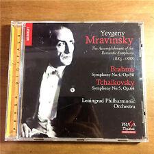 YEVGENY MARAVINSKY SYMPHONY NO.4/NO.5 IN E MINOR OP.98/OP.64 EU SA CD W-2467