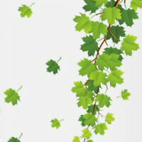 Removable Green Tree Leaves Plant Vinyl Art DIY Room Home Decor Wall Stickers