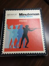 Scott 1390 Mint & Used US Stamps in Scott Minuteman Album to 1973 Value $310