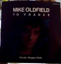 """Mike Oldfield to France vinyl 7"""" (Vocals Maggie Reilly)"""
