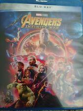 Avengers: Infinity Wars BLU-RAY - NO Sleeve