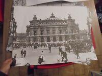 Grande Affiche Poster Repro Ancienne Photographie L'Opéra de Paris