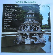 91 11 0198 - MUSICA NOCTURNA - WARCHAL Slovak Chamber Orchestra - Ex LP Record