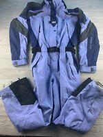 *Adult Medium Helly Hansen Helly-Tech Equipe Blue Ski Suit Full Suit