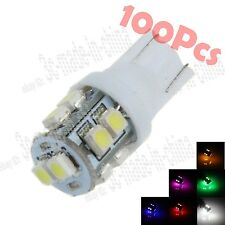 100X T10 656 657 1250 10 Smd 1210 Led Wedge Dome Light Interior Bulbs Auto Za026