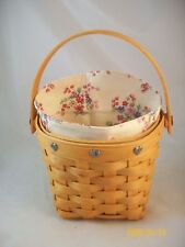 Longaberger 2001 Love Notes Basket Combo Nib