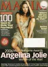 Maxim Magazine December 2006 Angelina Jolie Ashlee Simpson Christina Aguilera