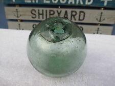(#1123) 3.10 inch Walt Pich book #24 NET JAPANESE GLASS FLOAT BALL BUOY BOUY