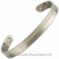 Nouveau Style TITANE Bracelet magnétique / BIO AIMANT Néodyme NdFeB Unisexe