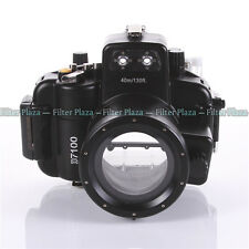 40M Waterproof Underwater Camera Housing Hard Case for Nikon D7100 &18-55mm Lens