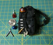 Hot Toys 1/6 Scale MMS209 Tony Stark The Mechanic Sling Backpack w/ Accessories