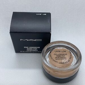 M.A.C Pro Longwear Paint Pot LAYIN' LOW, New in Box  5g