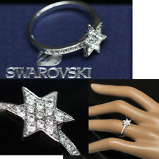 SWAROVSKI Ladies DIAMOND CRYSTAL STAR RING w/ Tag (8.5)