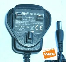 NETBIT AC ADAPTER KSAB0530100W1UK 5.3V 1A UK PLUG