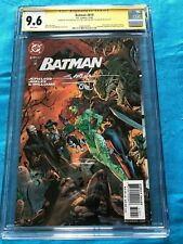 Batman #619 - DC - CGC SS 9.6 NM+ - Signed by Jim Lee, Williams, Sinclair