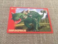 #8 Panini Dinosaurs Like Me sticker / unused / Euoplocephalus