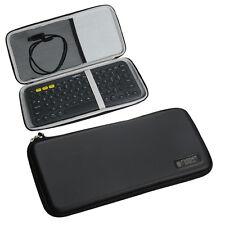For Logitech K380 Bluetooth Keyboard EVA Travel Storage Carrying Case Cover Bag