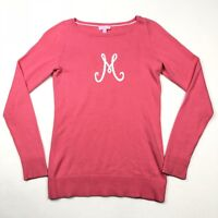 """Lilly Pulitzer Limited Edition Marielle Signature Sweater """"M"""" Pink • Medium"""