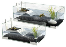Ciano Tartariums 40 60 80 Turtle Tank Terrarium Aquarium Ramp Terrapin Glass
