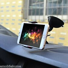 Adjustable Car Strong Suction Windshield Phone Holder Mount for Smartphone GPS