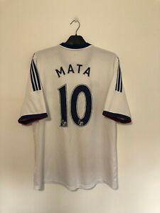 MATA Chelsea Away Football Shirt 2013/14 Large L
