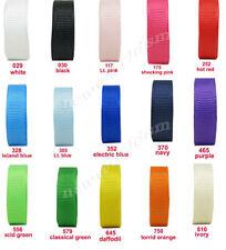 Polyester 6-10 Grosgrain Craft Ribbon