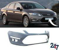 NEW FORD MONDEO MK4 10 - 15 FRONT BUMPER WITHOUT HEADLIGHT WASHERS AND PDC HOLES