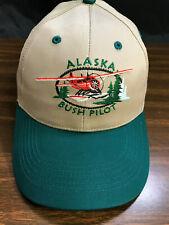 Alaska Snapback Cap Hat Sea Airplane Bush Pilot Otter Beaver Cessna Maule UnWorn