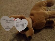 """The Beanie Babies Collection, """"Tiny"""" Puppy, Excellent condition"""