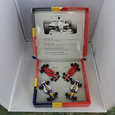 1/43, 4 Car set Nigel Mansell World Champion 1992, Onyx Formula 1 Models