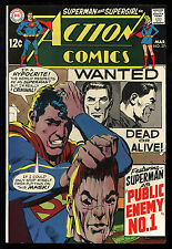 Action Comics (1938) #374 First Print Neal Adams Cover Public Enemy No 1 VF/NM