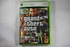 Grand Theft Auto IV 4 ORIGINAL (Microsoft Xbox 360) NEW Factory Sealed Near Mint
