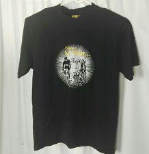 TOUR DE FRANCE Men's T Shirt Size M Black Official Graphic Print Short Sleeve