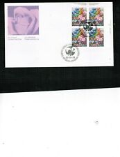 CANADA 1980  FLOWER GARDEN  FDC BL/4  see scan  MNH  #855  BOX 508