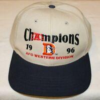 NFL Denver Broncos 1996 AFC Western Division Champions Cap