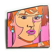 Pretty In Pink Molly Ringwald 80's Movie Hat Jacket Tie Tack Lapel Pin