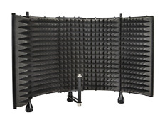 Microphone Isolation Shield Vocal Acoustic Recording Sound Proofing Studio Foam