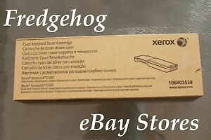 GENUINE XEROX CYAN TONER CARTRIDGE 106R03538 FOR VERSALINK C400 & C405 - NEW