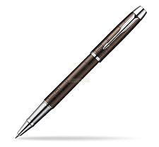 Parker IM Premium Metal Brown Rollerball - Black Ink - SO949560