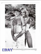 Robin Williams barechested VINTAGE Photo Twiggy Club Paradise