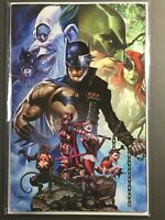 The Batman Who Laughs #6 Mico Suayan Unknown Comics Virgin Variant DC 2019