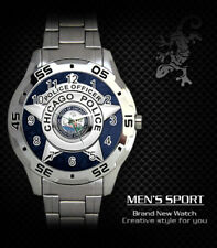 CHICAGO POLICE OFFICER STEEL WATCH NEW 2020 (RARE)