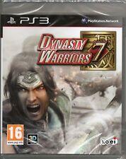 Dynasty Warriors 7 GIOCO PS3 ~ nuovi/sigillati