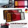 2x 12V 36LED Anhänger Rücklicht Hänger Rückleuchten Heckleuchte Beleuchtung LKW