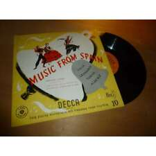 ENRIQUE JORDA music from spain - DECCA ENGLAND LXT 2521